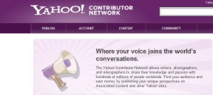 Yahoo announced today that it is creating a new platform for people to publish their creative content exclusively on its sites - the Contributor Network.