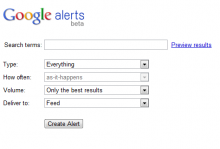 Google Alerts help publishers find duplicated web content.