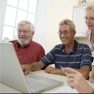 A new eMarketer report indicates that seniors (age 65 and older) are increasingly participating in online activities.