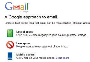 A new Gmail people widget could add a social layer to marketing messages.