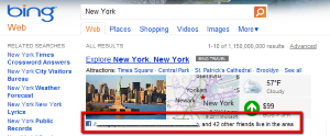 Bing has announced new updates to its social search service, bringing the power of Facebook data to SERPs.