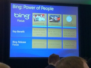 At day two of SMX Advanced Seattle, Bing's director of search, Stefan Weitz, talked about the future of SEO, emphasizing the value of social search and Schema.org.