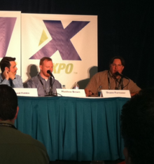Bing's Duane Forrester at SMX Seattle.