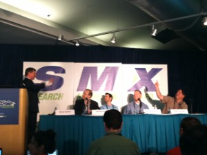 The SMX Seattle Periodic Table of SEO panel.