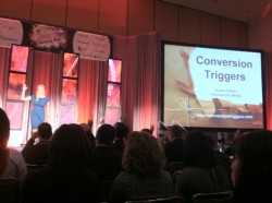 Susan Bratton, co-founder and CEO of Digital Life Media, told SES San Francisco attendees that structured communications convert online audiences.