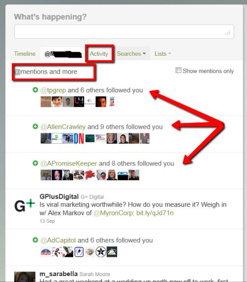 Twitter Activity Feed