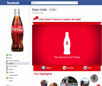 A survey from Covario finds that Coca-Cola is among the best performing companies in terms of social media marketing.