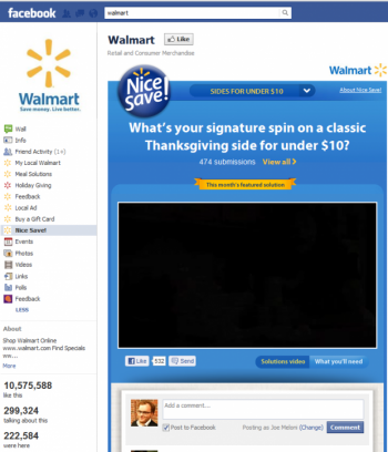 A report from Socialbakers found that Walmart is leading the social media marketing initiative ahead of Black Friday, and internet marketers should strive for similar success to engage the wave of consumers who turn to social platforms to inform holiday shopping.