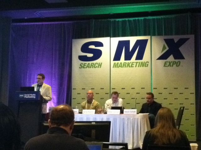 SMX Social Media Marketing Facebook traffic and conversions session