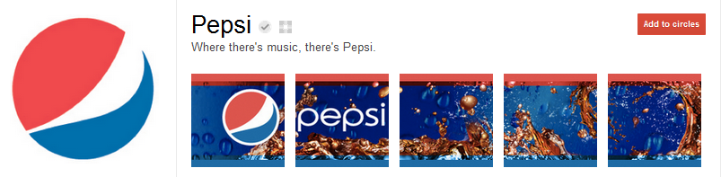 Pepsi Google+