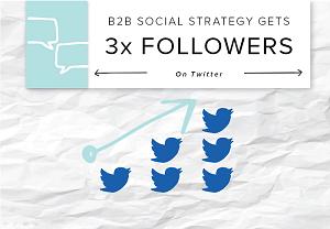 b2b twitter strateghy