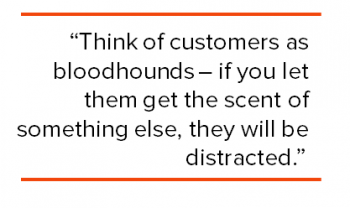 SES New York 2012 - Think of customers as bloodhounds