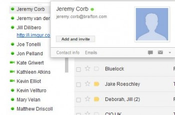 A new Google Apps features allows users to add GChat contacts to their Google+ Circles directly from their inbox screens.