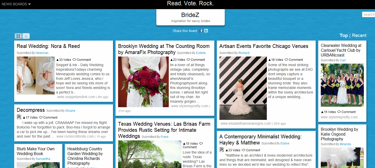 Blekko has rolled out a new social content curation platform in ROCKZi.