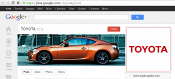 Google+ announced the rollout of custom URLs, which marketers can use to