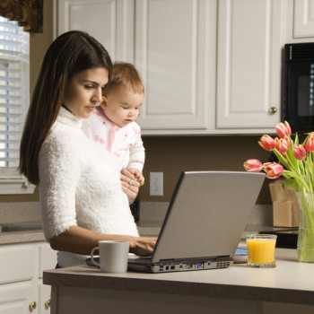 Developing a social media and blog content marketing campaign aimed at mothers may be more effective than most as the demographic is increasingly active on the web.