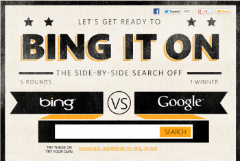 Bing It On is Bing's latest attempt to tell web users how valuable its site can be.