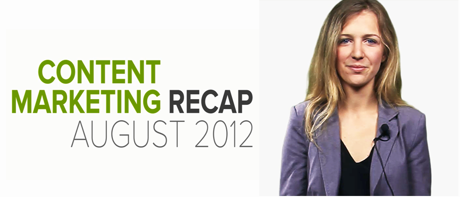 Brafton's August content marketing recap
