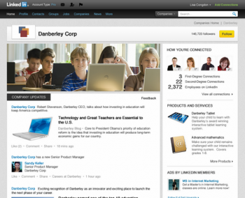 LinkedIn Company Pages now place a greater emphasis on content brands share on the social network.