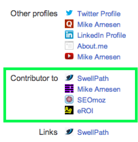 "Arnesen ""Contributor to"" on Google+"
