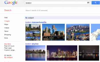 Google announced a new image search feature that allows users to sort results by category.