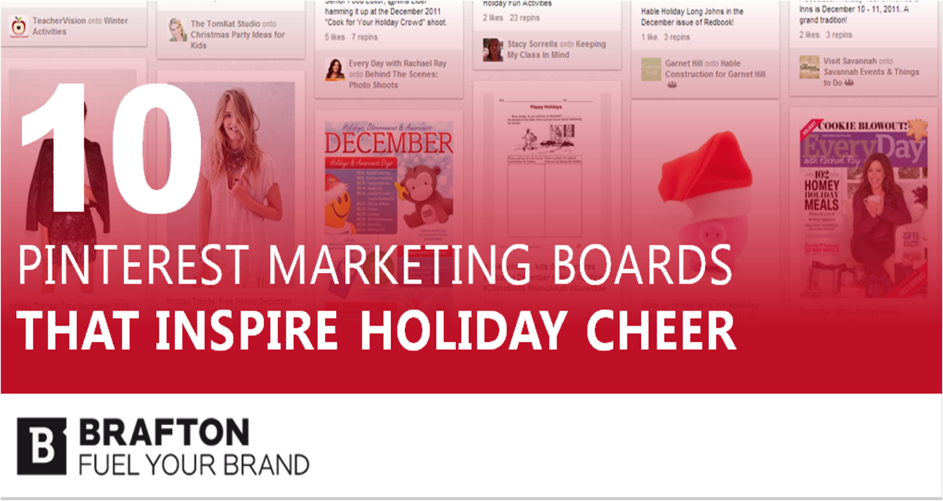 10 pinterest holiday marketing boards