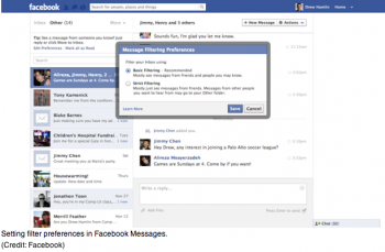 Facebook Inbox Test