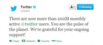 Twitter 200M