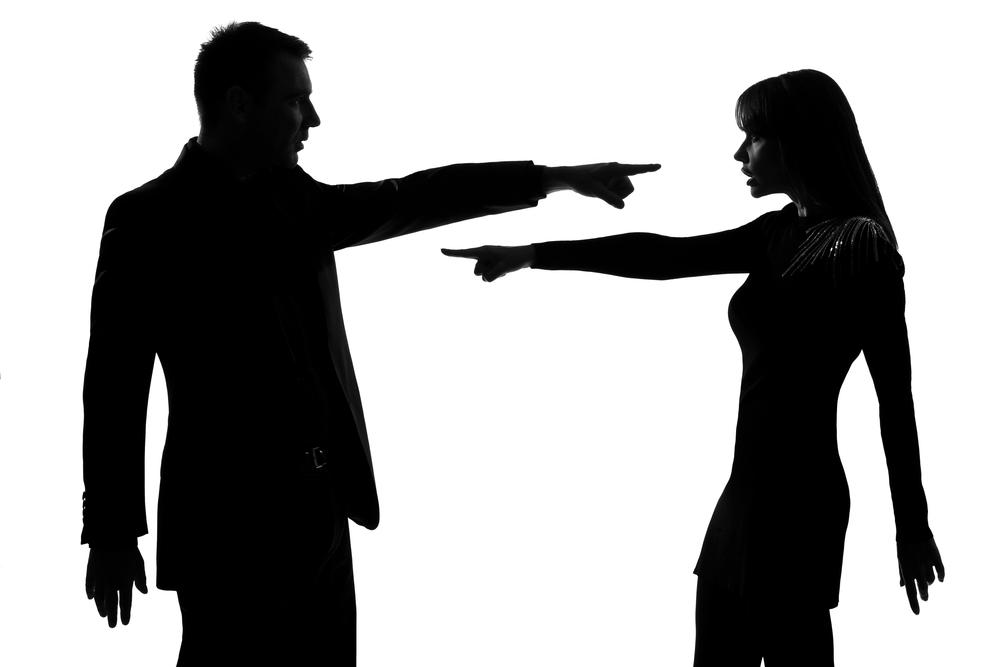 Ссора с мужем, причины, как избежать | 667x1000