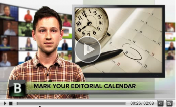 Brands that create editorial calendars for their content marketing campaigns see great