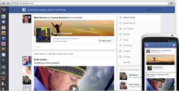 Facebook's News Feed focuses on quality content.