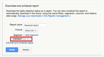 AdWords Feature