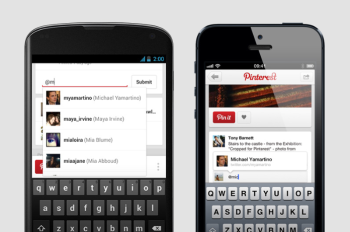 New mobile Pinterest features make sharing easy