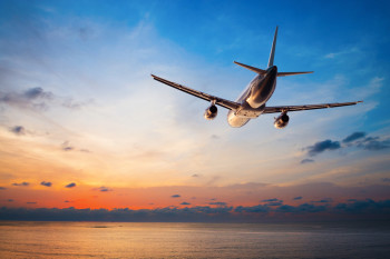 The airline company is using email marketing to persuade travelers into booking flights online.