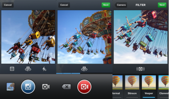 Marketers that use Instagram to share social content can now record short video clips to share with followers.