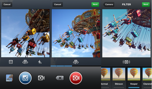 Instagram announces video content.