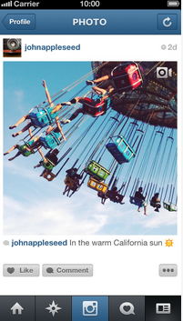 Instagram video content now available to users.