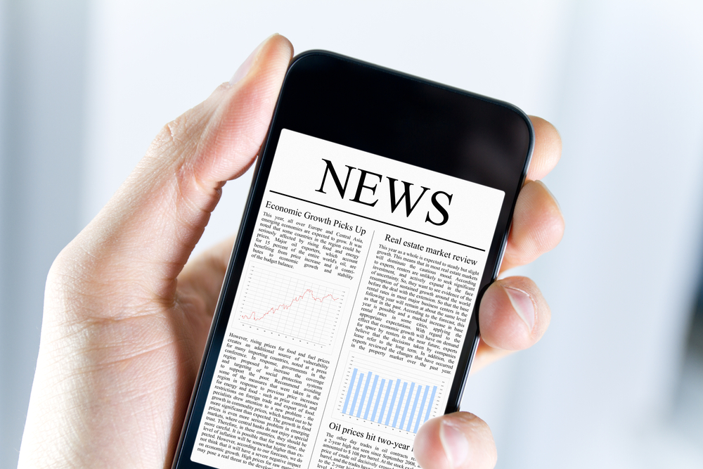 A study find more consumers are reading news on social media sites.