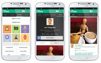 Twitter Vine app for Android phone owners