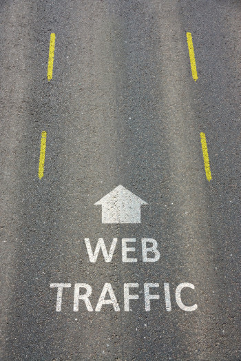 Web Traffic Barely Reads Content.
