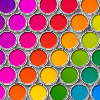 ​A new study from Curalate suggests brands should create colorful, texture-rich social media content to boost engagement rates.