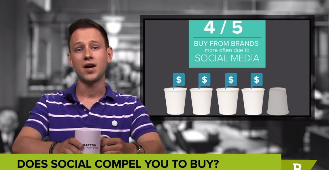 Social as a sales tool in this week's content and coffee with brafton