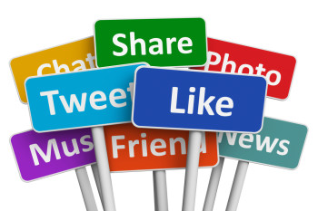 Marketers must consider which social channels are the best avenues for sharing web content.