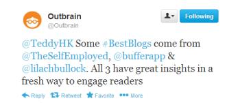Outbrain BestBlogs