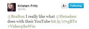 Kristen Fritz's response to the Hashtag of the Week.