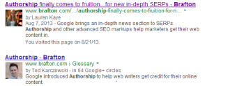 Google gives new guidance for proper Authorship use.