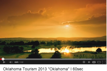 The Oklahoma Tourism and Recreation Department created video content to inspire American visitors.
