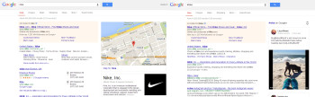 Nike and #Nike search