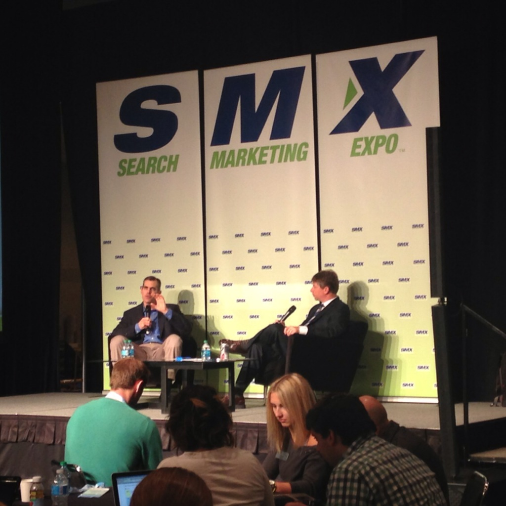 At the SMX Keynote, Richard Alfonsi explained how Twitter paid options can support organic content marketing.