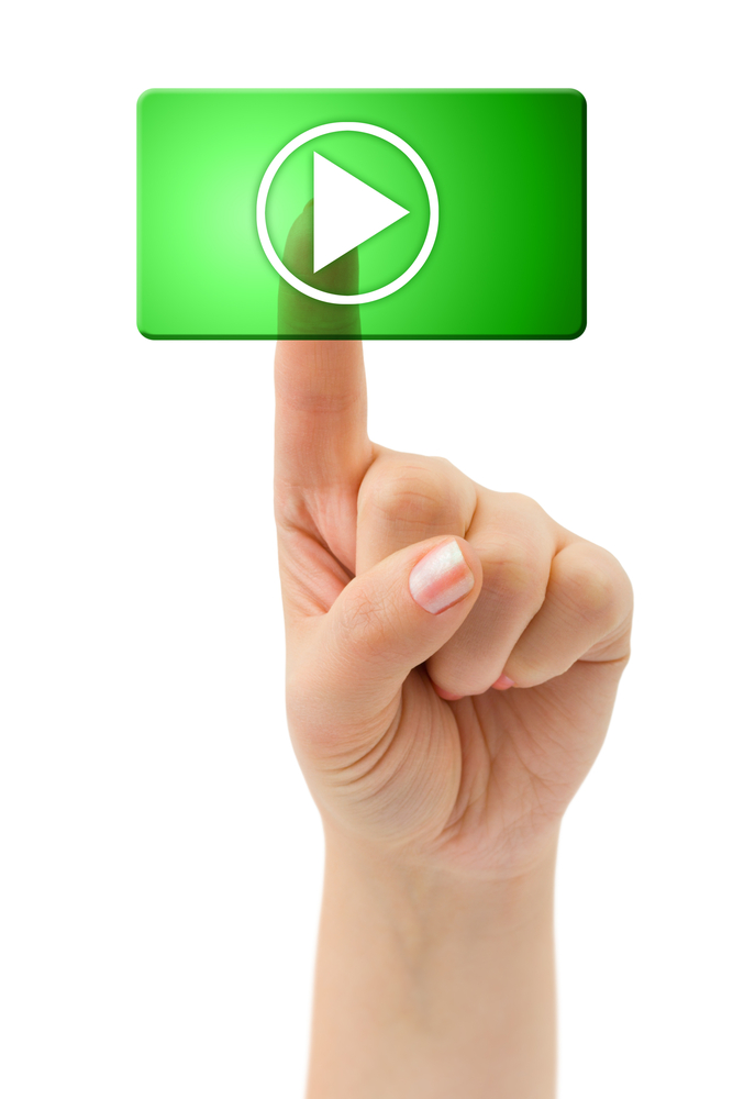 video content receives clicks